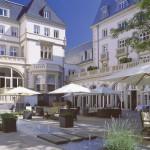 Rocco Forte Villa Kennedy: Der Innenhof ...