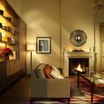 Rocco Forte Villa Kennedy: Für wichtige Gespräche am Kamin ...
