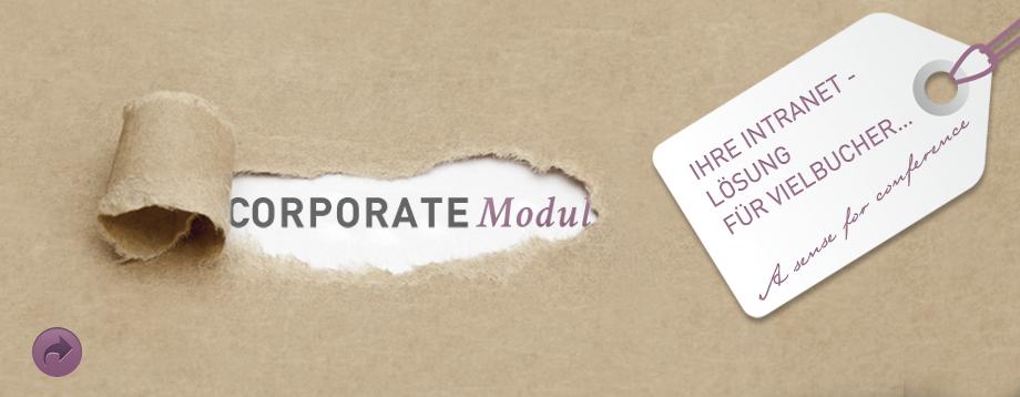 Corporate Modul - das Tagungsportal für Ihr Intranet ...